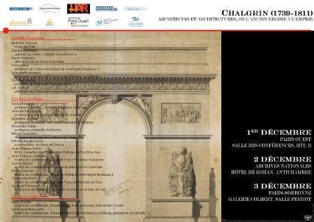Affiche colloque Chalgrin