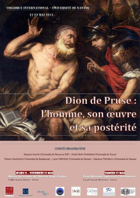 Affiche colloque Dion de Pruse