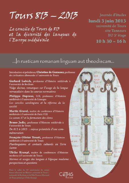 affiche Tours 813