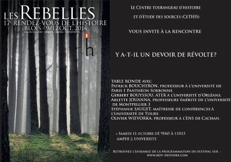 RDV Blois 2014 - Les Rebelles - Carte Blanche
