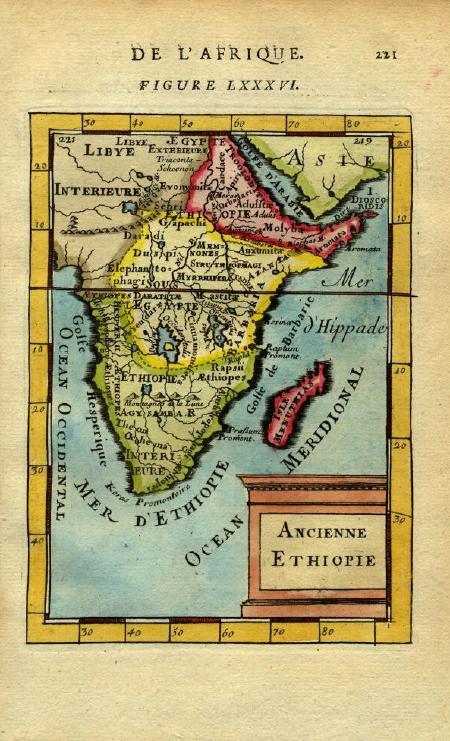 Ancient Ethiopia 1683