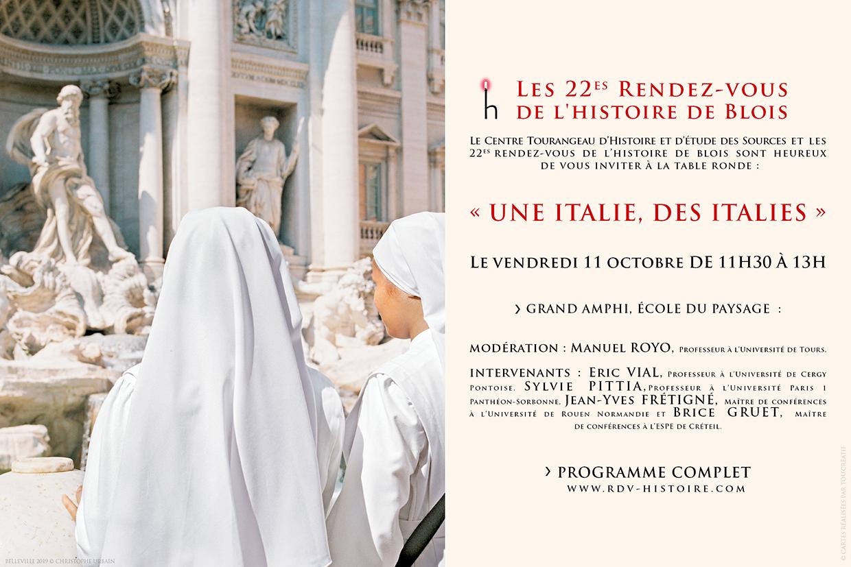 programme Une Itlaie, des Italies