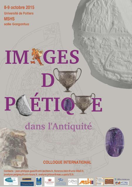 affiche colloque  Images du poétique